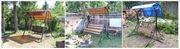Садовые разборные качели в Сморгоне